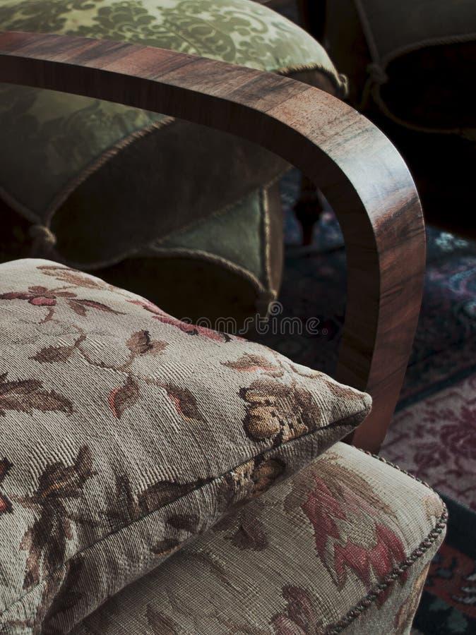 Винтажная текстура подушки стоковые фотографии rf