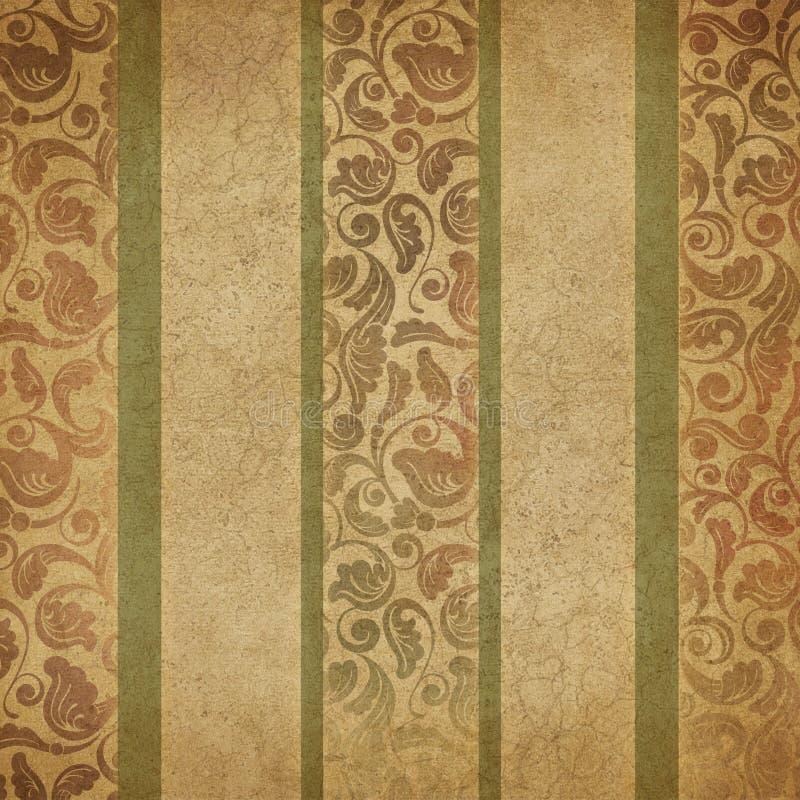 Винтажная текстура предпосылки цифров бумажная - дизайн цифров штофа и нашивки осени бумажный стоковые фотографии rf