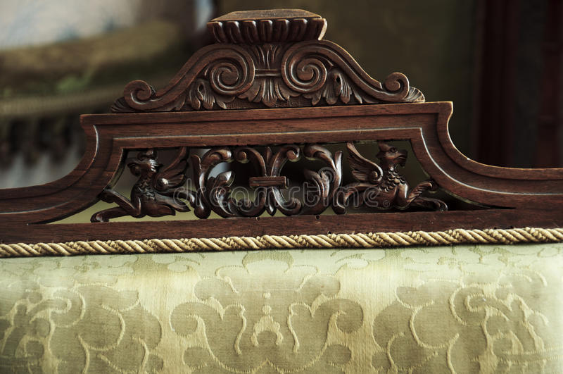 Винтажная текстура стула стоковое фото