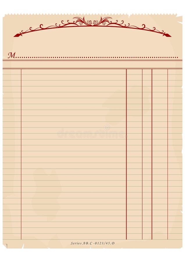 Винтажная фактура иллюстрация штока