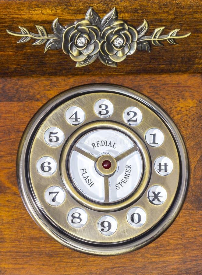 Download Винтажная шкала телефона стоковое фото. изображение насчитывающей соединение - 41653976