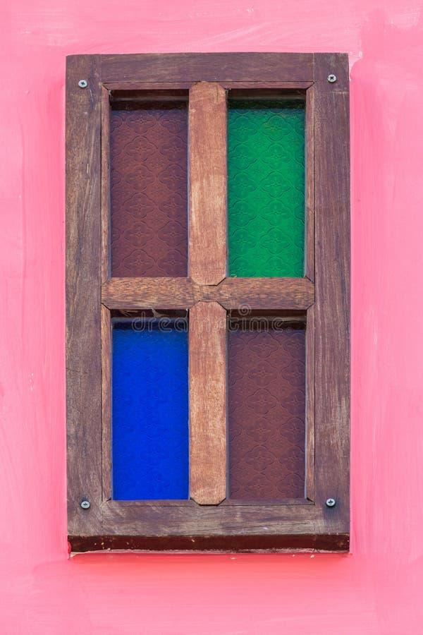 Винтажное деревянное окно стоковая фотография rf
