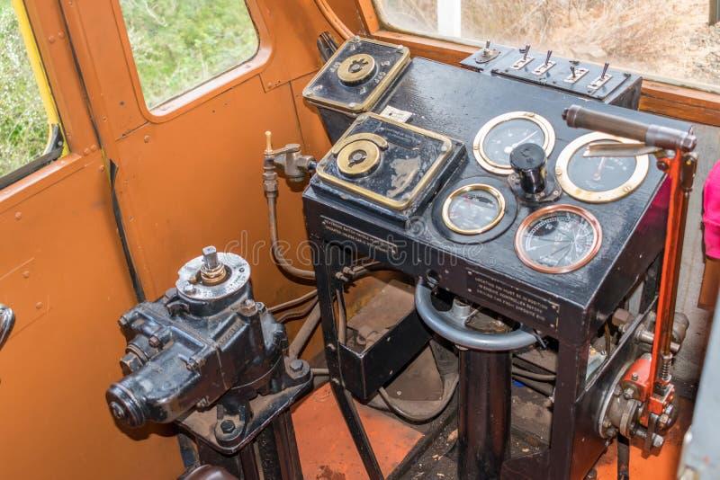 Винтажное оборудование поезда стоковые изображения
