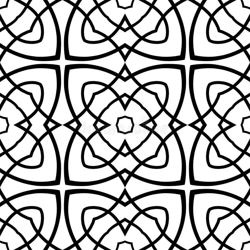 Винтажное орнаментальное безшовное стоковые изображения rf