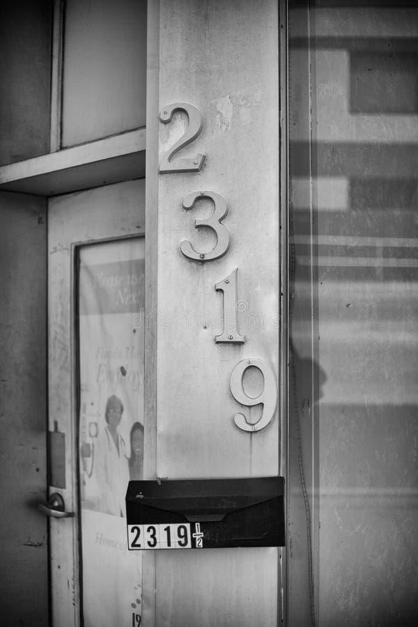 Винтажное офисное здание Орландо стоковое фото