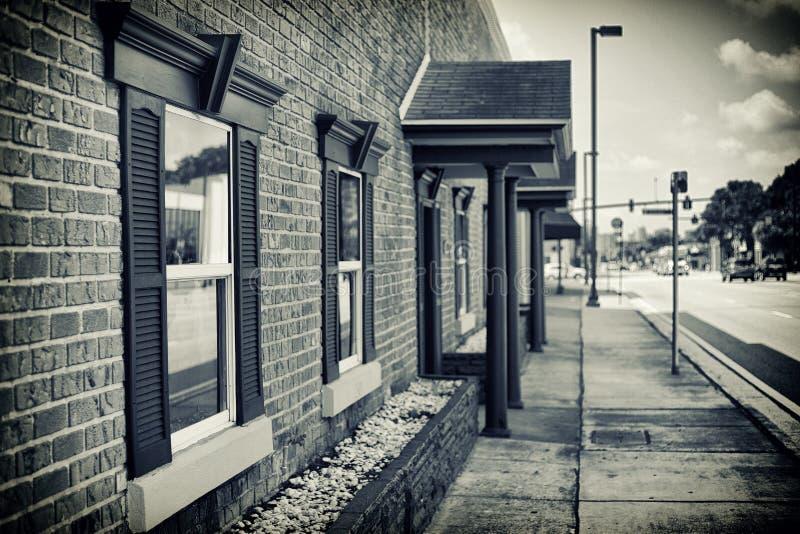 Винтажное офисное здание Орландо стоковое фото rf