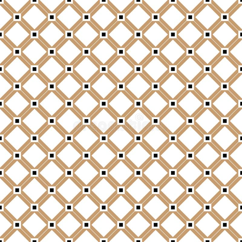 Винтажное перекрестное золото выравнивает картину или предпосылку вектора бесплатная иллюстрация