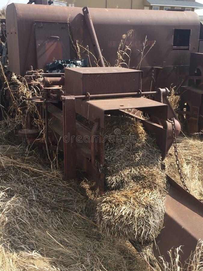 Винтажное сельскохозяйственное оборудование стоковые фотографии rf
