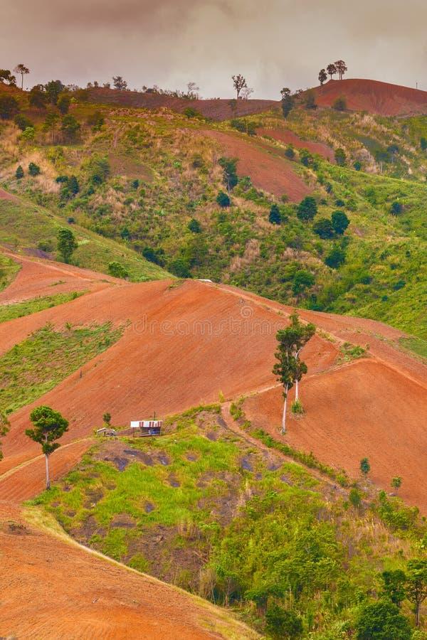Винтажное Mountai стоковые изображения