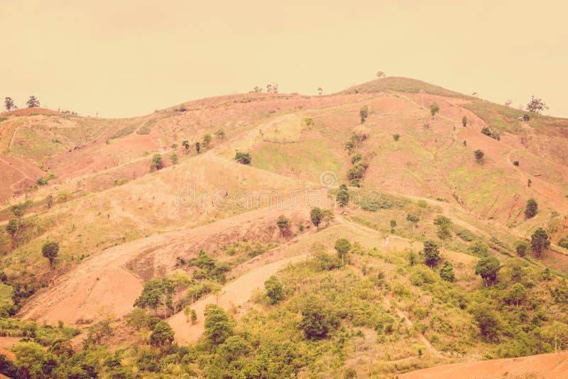 Винтажное Mountai стоковая фотография rf