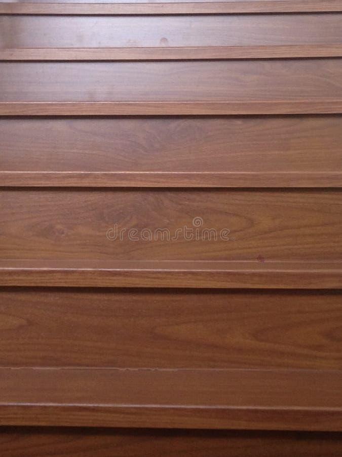 Винтажные деревянные лестницы стоковая фотография rf