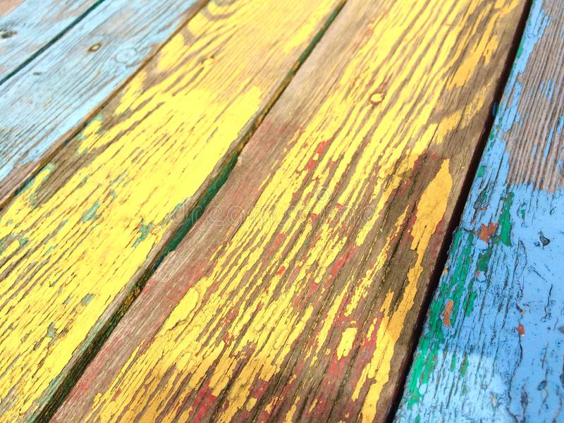 винтажные деревянные планки как предпосылка стоковое изображение