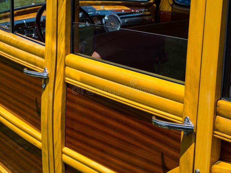 Винтажные детали Woody стоковое фото rf