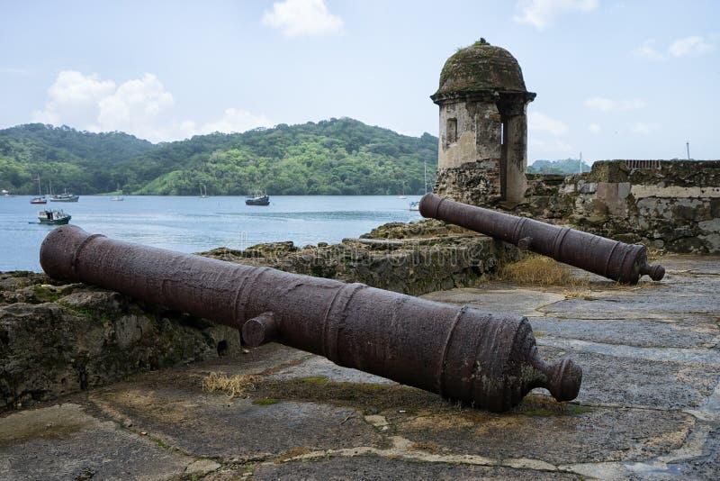 Винтажные карамболи в Portobelo Панаме стоковые изображения rf