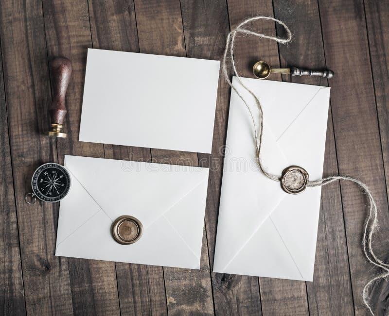 Винтажные конверты письма стоковое изображение