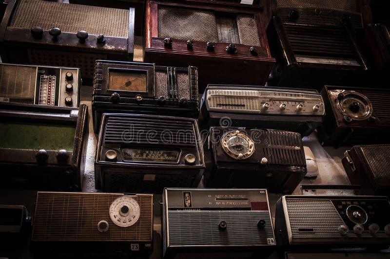 Винтажные радио стоковое изображение rf