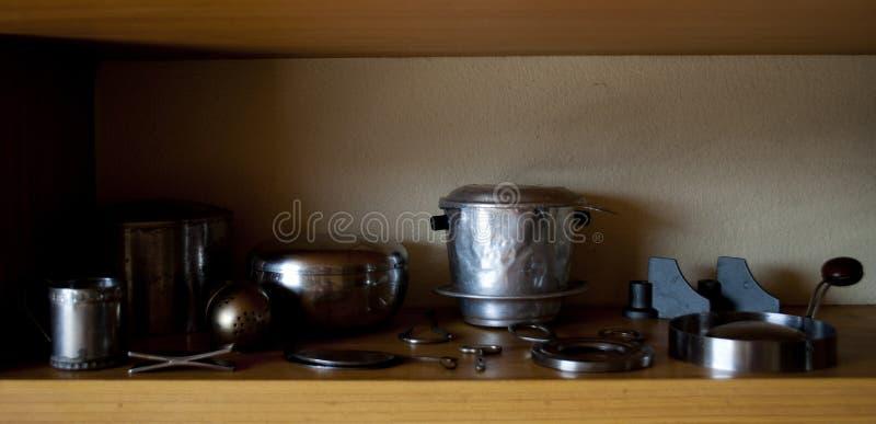 Винтажные шестерни кухни стоковая фотография rf