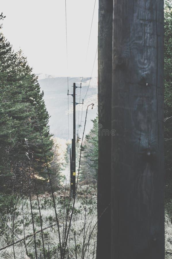 Винтажные электрические поляки стоковое фото