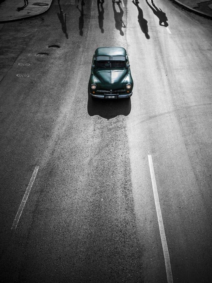 Винтажный автомобиль, фантазия Гаваны стоковые фотографии rf