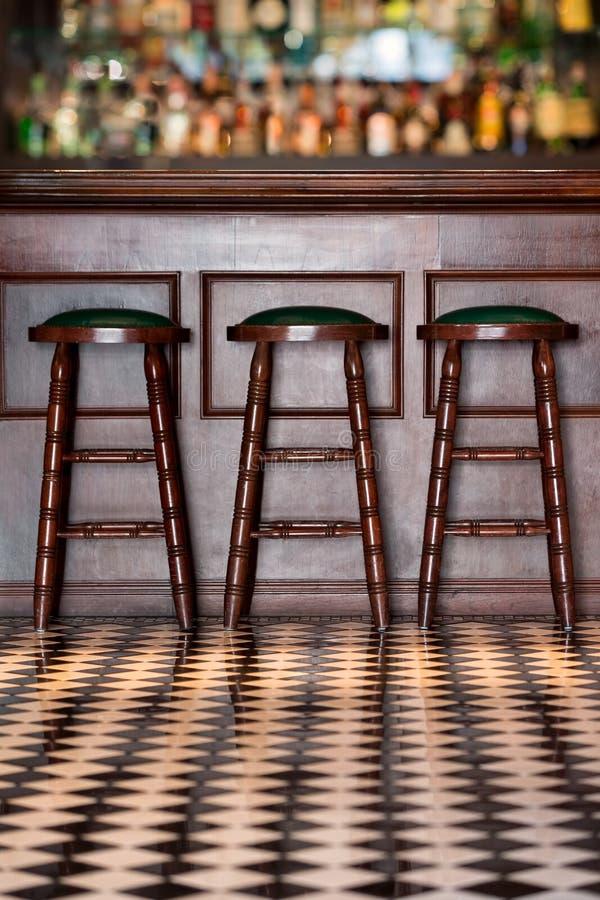 Винтажный бар стиля стоковое изображение rf