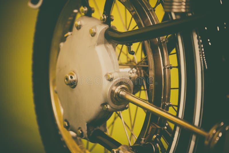 Винтажный вал мотоцикла стоковое изображение rf