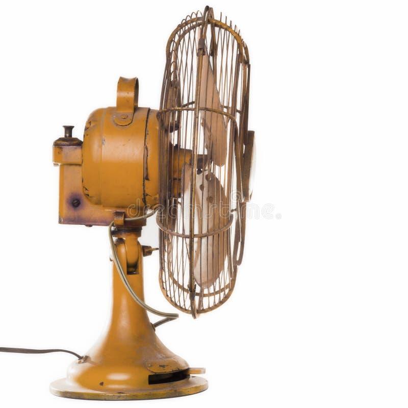 Винтажный вентилятор стоковое фото rf