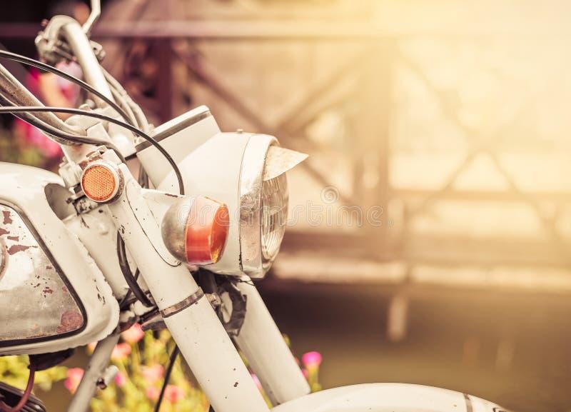 Винтажный или старый мотоцикл стоковые фото