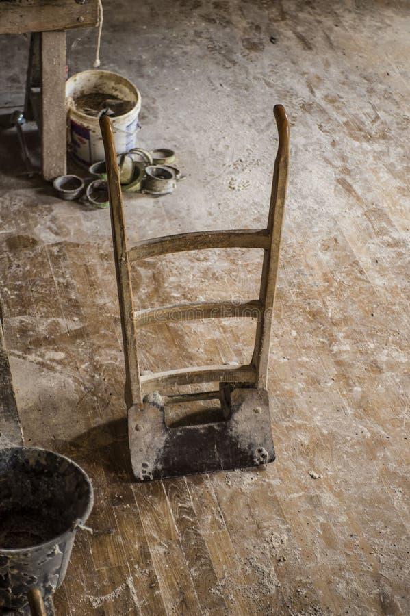 Винтажный курган руки стоковая фотография rf