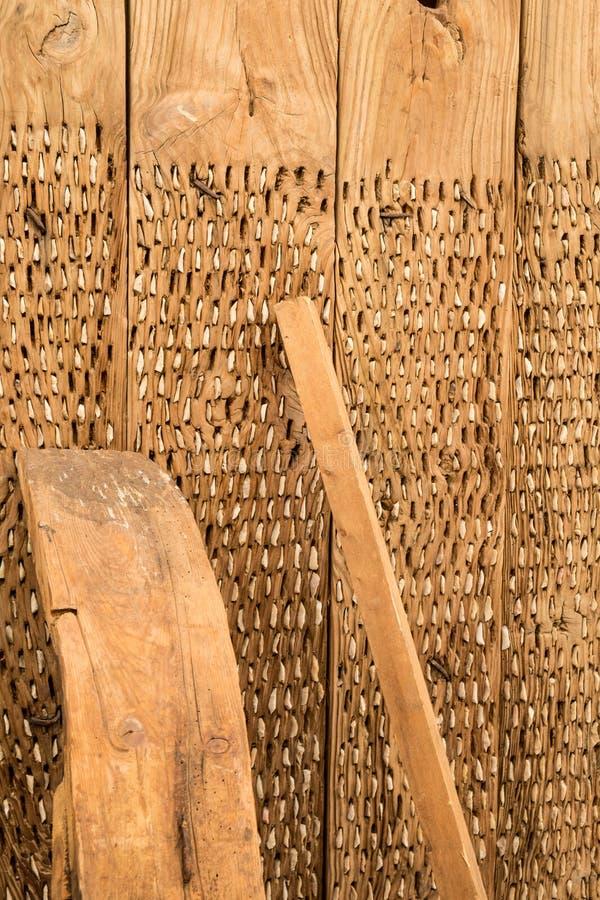 Винтажный молотильщик стоковое изображение rf