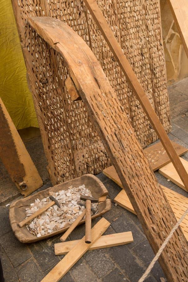 Винтажный молотильщик стоковые фото