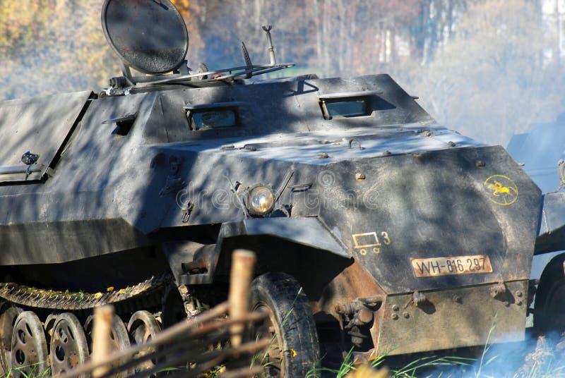 Винтажный немецкий танк стоковое фото