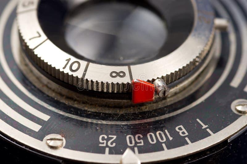 Винтажный объектив фотоаппарата стоковые изображения rf