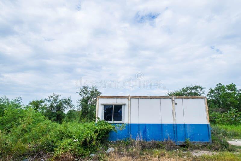 Винтажный дом кабины контейнера стоковые фото