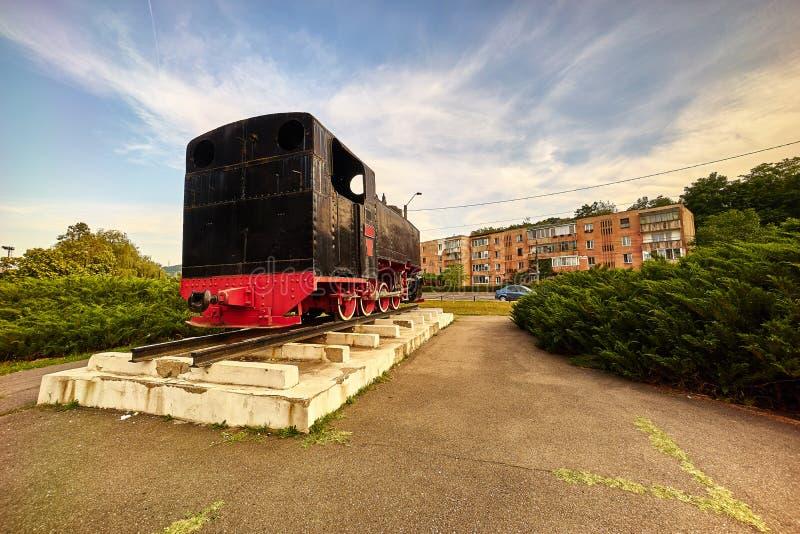 Винтажный поезд стоковая фотография rf