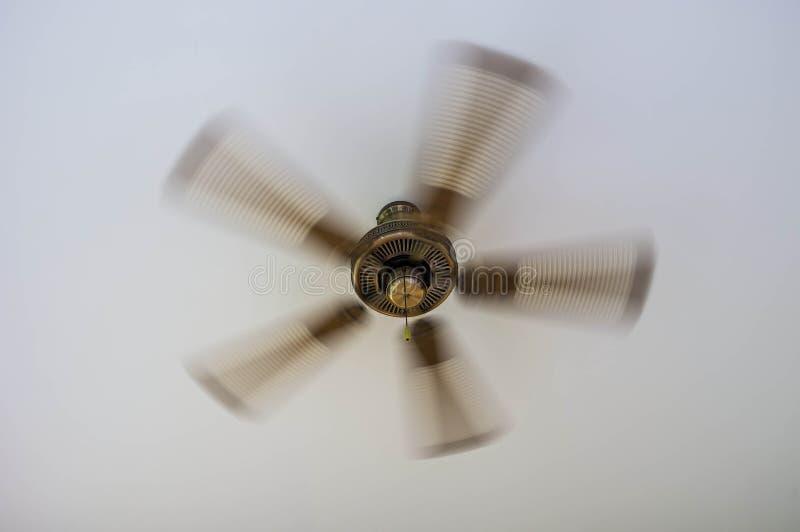 Винтажный потолочный вентилятор стоковые изображения