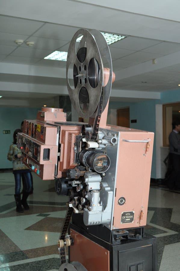 Винтажный репроектор кино стоковые изображения
