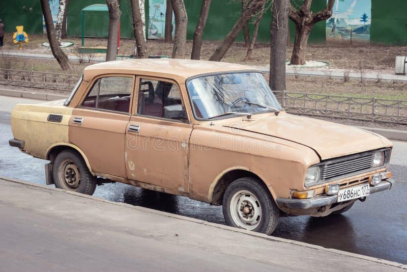 Винтажный советский автомобиль стоковое фото rf