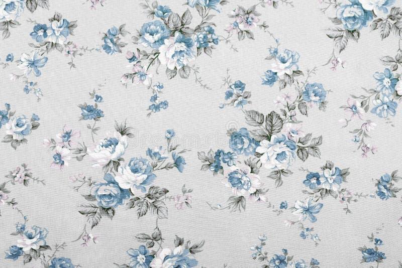 Винтажный стиль гобелена цветет картина ткани стоковые изображения rf