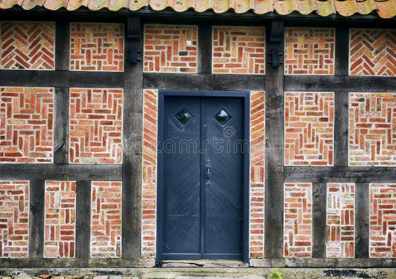 Винтажный фасад стоковое изображение rf