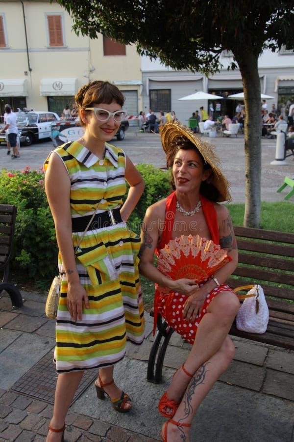 Винтажный фестиваль корней - Melzo, 30-ое июня 2019 стоковые фотографии rf