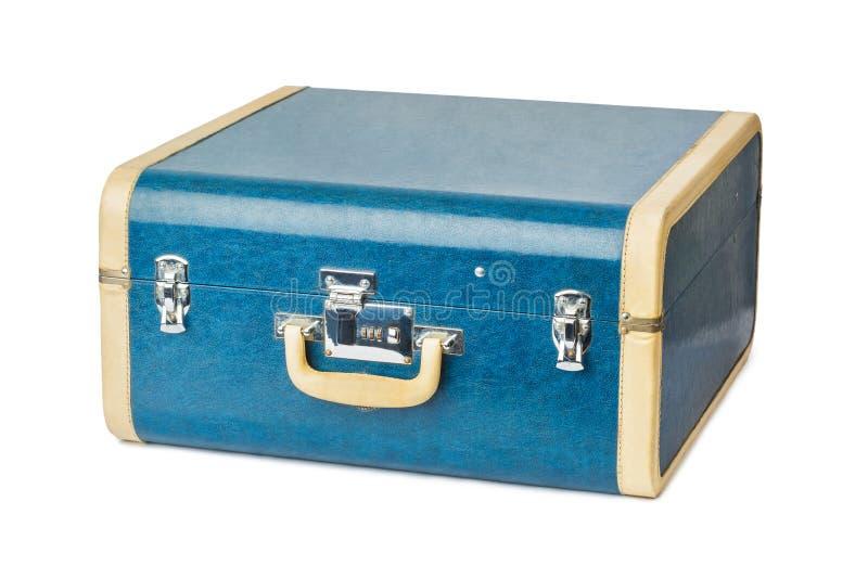 Винтажный чемодан перемещения стоковое фото rf
