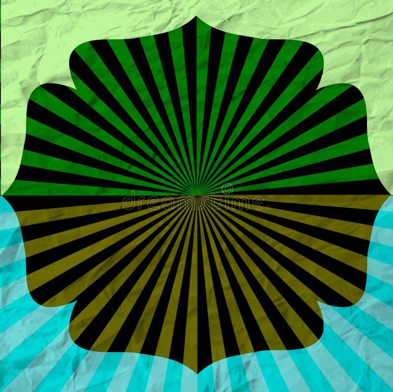 Download Винтажный шаблон дизайна абстрактный пробел Иллюстрация штока - иллюстрации насчитывающей эмблема, плакат: 41662002