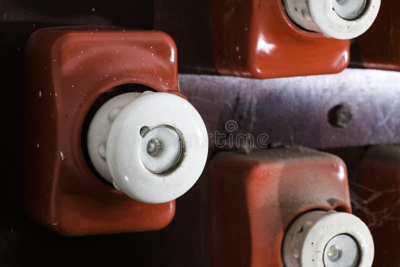 Винтажный электрический взрыватель стоковые фотографии rf