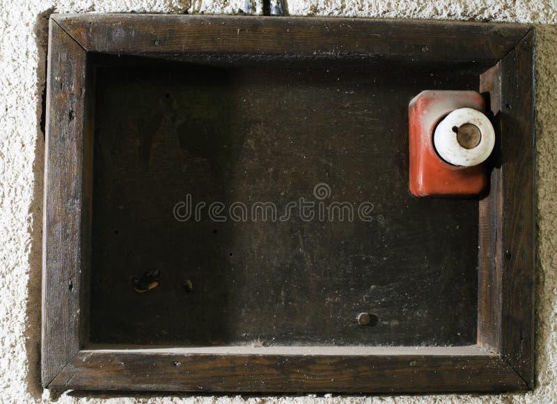 Винтажный электрический взрыватель стоковое изображение rf