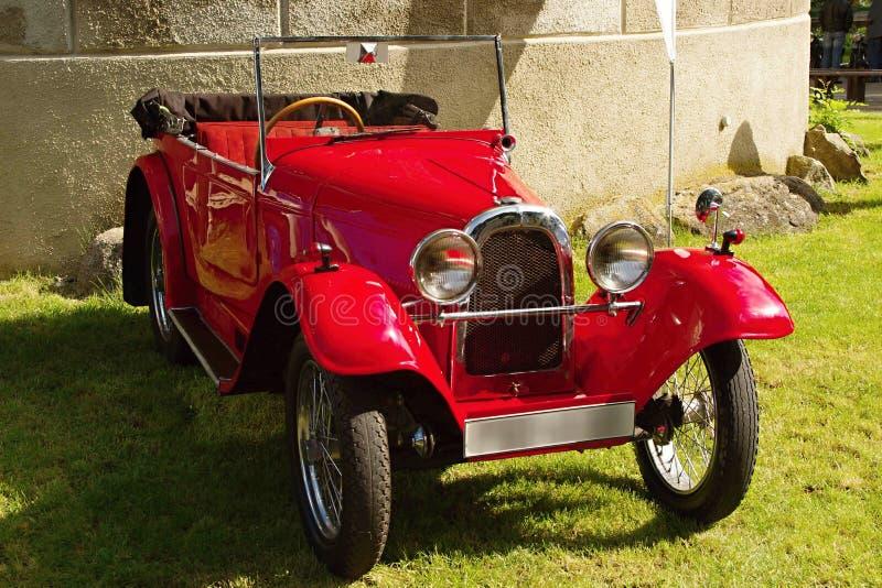 Винтажный Aero автомобиль спорт стоковое изображение rf