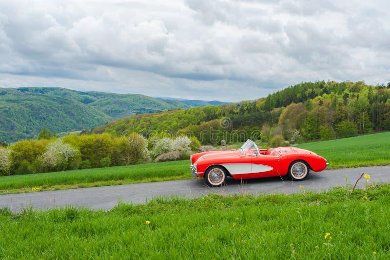 Винтажный Chevrolet Corvette стоковая фотография rf