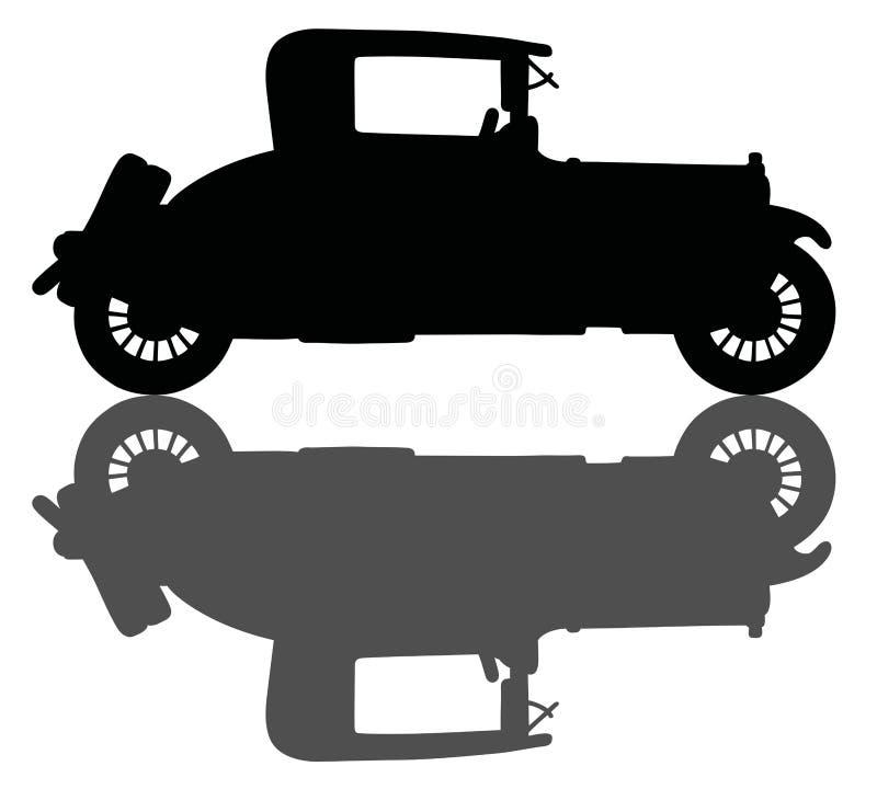Винтажный coupe бесплатная иллюстрация