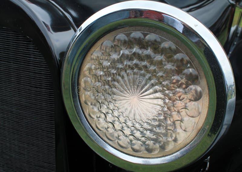 Винтажный headlamp стоковая фотография