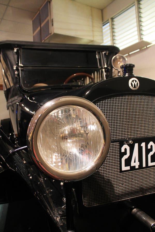 Винтажный headlamp стоковая фотография rf