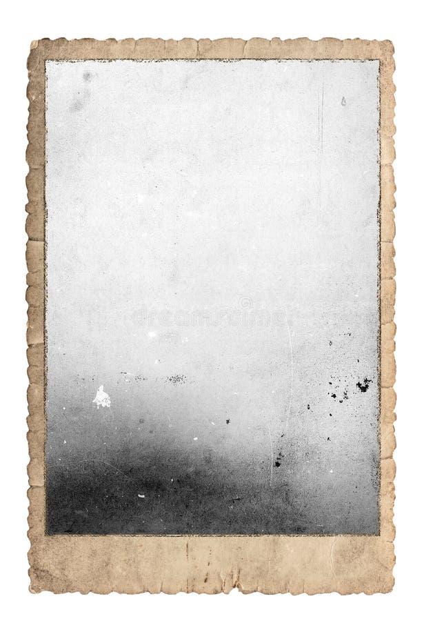 Винтажными бумага фото рамки фото используемая изображениями стоковое изображение